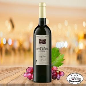Château Grand Tertre vin rouge Castillon Côtes de Bordeaux vin rouge 2014 , Famille Rollet