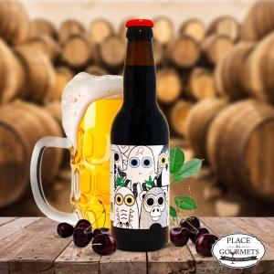 Clafoutriple, bière blonde 330 ml barriquée par brasserie Bendorf