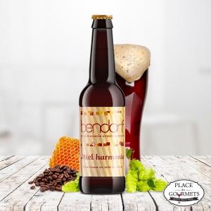 Miel Harmonie : bière brune au miel brown ale  de Bendorf