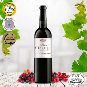 Château Glorit Blaye Côte de Bordeaux vin rouge 2012
