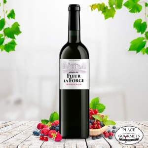 Château Fleur La Forge, vin rouge Bordeaux 2012