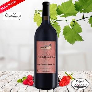 Magnum Château Fleur Balestre Saint-Emilion Grand Cru vin rouge 2016