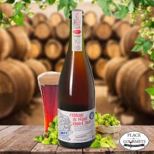 Abbaye de St Bon-Chien, bière artisanale vinifiée suisse Brasserie des Franches-Montagnes