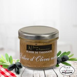 Délice d'olives noires 100 gr Jean d'Audignac