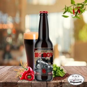 """""""Big Boy"""" 330 ML, bière noire au piment de la brasserie la débauche"""
