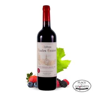 Château Hautes Graves, vin Saint-émilion grand cru en promo