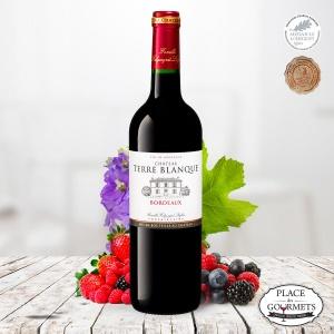 Château Terre Blanque, vin rouge de Bordeaux 2017