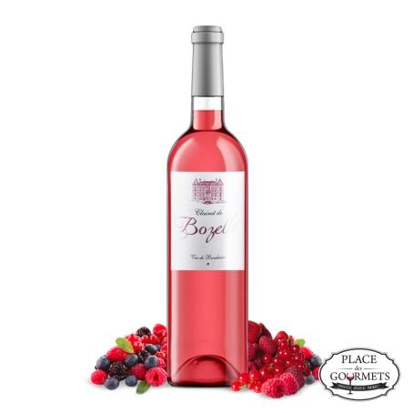 Bordeaux Clairet de Bozelle  vin clairet 2018 Vignobles DUBOIS