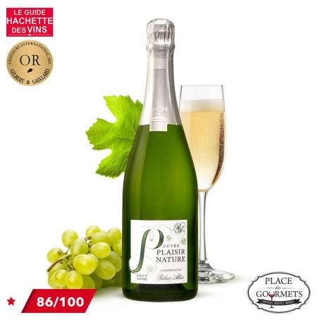 Champagne nature Robert-Allait cuvée Plaisir Nature 750ml
