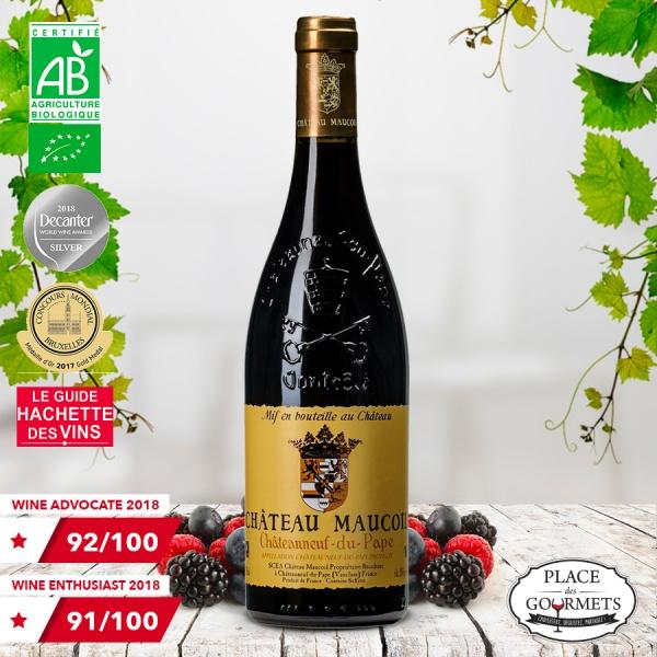 Château Maucoil Tradition vin bio