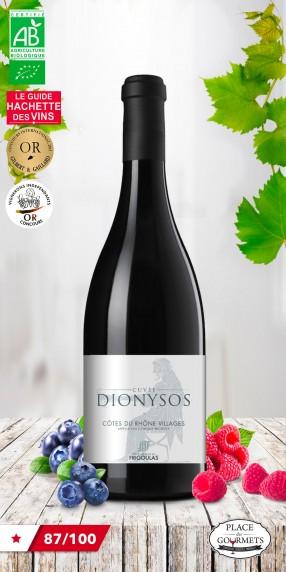 Vieux manoir du Frigoulas cuvée Dionysos vin bio