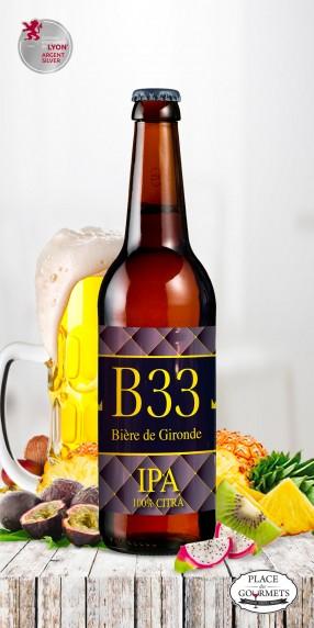 B33 bière IPA 33cl