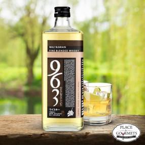 963 Blended black label  whisky japonais