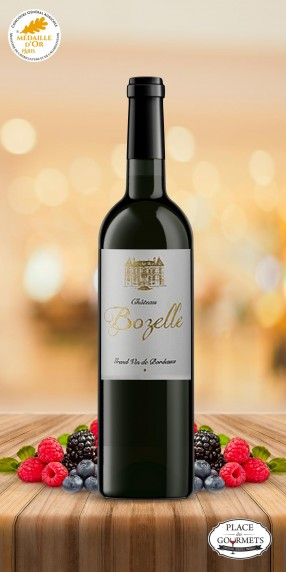 """Vin Bordeaux rouge """"Classic de Bozelle"""""""