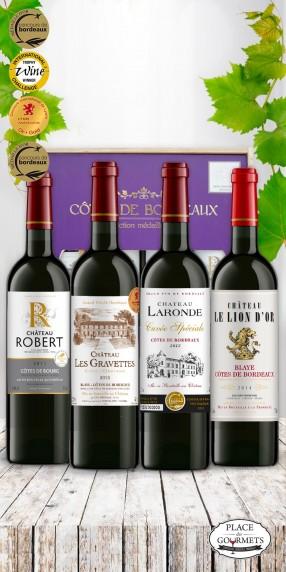 Côtes de Bordeaux Médaillés d'Or