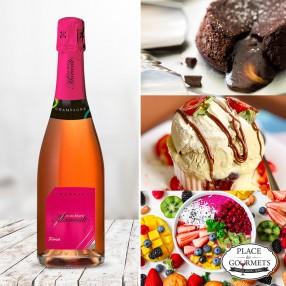 Champagne brut rosé Jean-Marie Marcoult & Fils