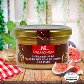 Gourmandise de bloc de foie gras de canard à la figue, DUCS DE GASCOGNE