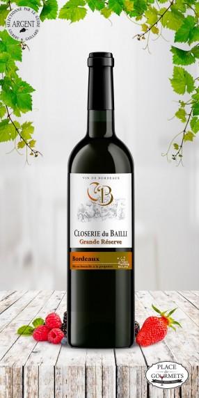 vin Closerie du Bailli Grande Réserve