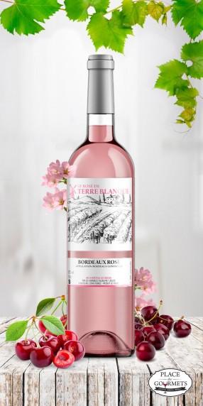 Le Rosé de Terre Blanque vin de Bordeaux
