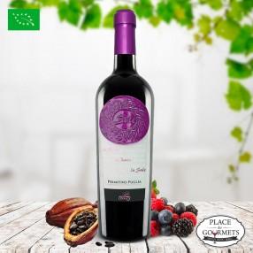 Vin bio italien Sule Primitivo 2017 IGP Puglia - Vigne di Levante