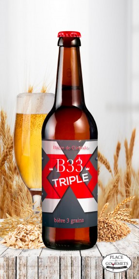 B33 Bière Triple IPA XXX 33cl