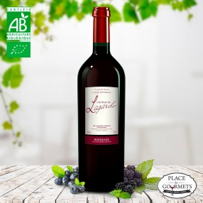 Château Lagarde cuvée prestige vin bio Bordeaux Supérieur