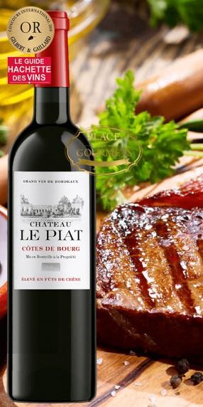 Château Le Piat vin Côtes de Bourg