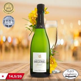 Champagne brut Delong Marlène Privilège