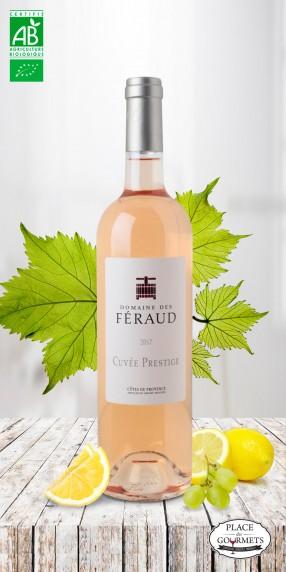 Domaine des Féraud cuvée prestige vin rosé bio