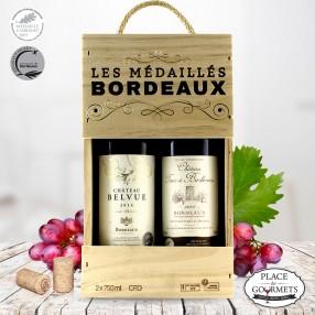 Les Médaillés Bordeaux 2 bouteilles