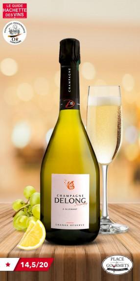Champagne brut Delong Marlène Grande réserve
