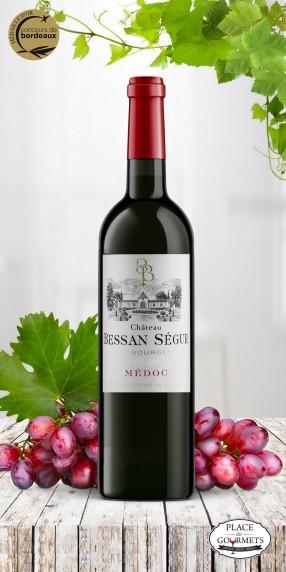 Château Bessan Ségur vin rouge Médoc 2015