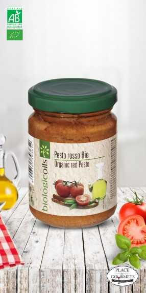 Pesto bio à la tomate