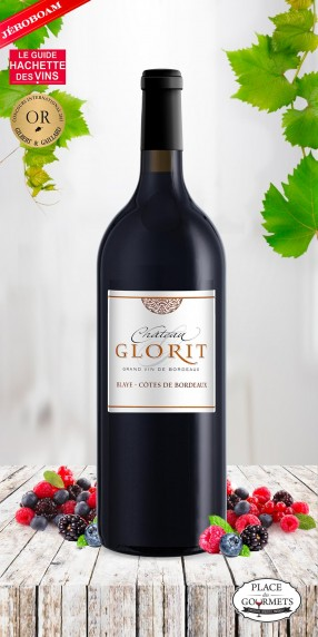 Jéroboam Château Glorit rouge