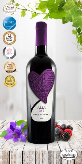 Amami IGP Nero d'Avola vin rouge italien 2016