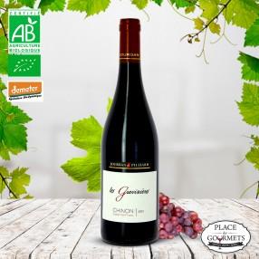 les graviniere vin rouge biodynamie chinon